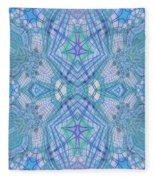Pretty Blue Fleece Blanket