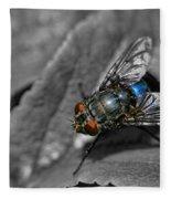 Pretty Fly For A Fly Guy Fleece Blanket