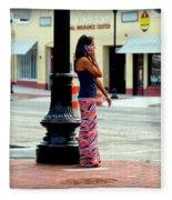 Pretty Woman Fleece Blanket