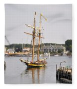 Pride Of Baltimore II Pb2p Fleece Blanket