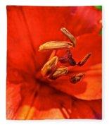 Prime Red Fleece Blanket