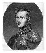 Prince Albert (1819-1861) Fleece Blanket