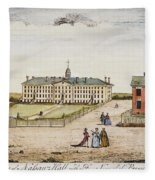 Princeton College, 1764 Fleece Blanket