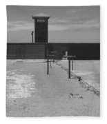 Prison Yard Fleece Blanket