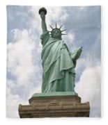 Proudly She Stands Fleece Blanket