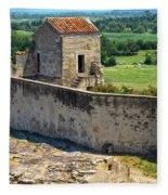 Provence Countryside Fleece Blanket