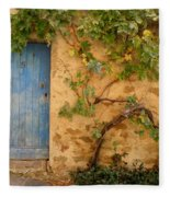 Provence Door 5 Fleece Blanket