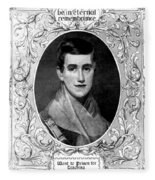 Prudence Crandall, American Educator Fleece Blanket