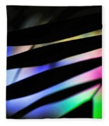 Psychedelic Palm Abstract Fleece Blanket