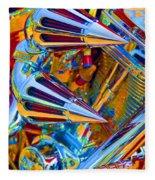 Psychodelic Chopper-2 Fleece Blanket