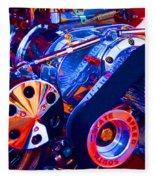 Psychodelic Supercharger-1 Fleece Blanket