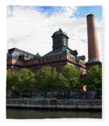 Public Works Museum Fleece Blanket