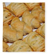 Puff Pastry Party Tray Fleece Blanket