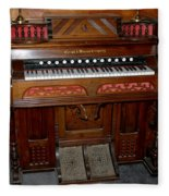 Pump Organ Fleece Blanket