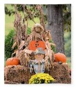 Pumpkin Harvest 2012 Fleece Blanket