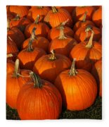 Pumpkin Strike Fleece Blanket
