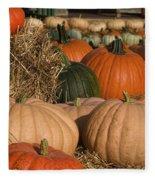 Pumpkins Pumpkins Everywhere Fleece Blanket