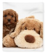 Puppy Fleece Blanket