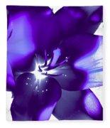 Purple Blast Fleece Blanket