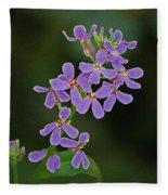 Purple Joy Fleece Blanket