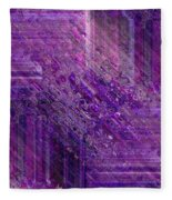 Purple Mystique Fleece Blanket