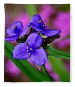 Purple Passion Fleece Blanket
