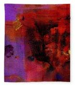 Purple Rain I Fleece Blanket