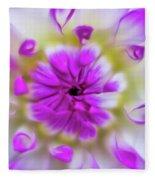 Purple Splendor Fleece Blanket