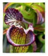 Purple Veins Fleece Blanket