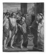 Pylades And Orestes Fleece Blanket