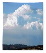 Pyrocumulus Cloud  Fleece Blanket