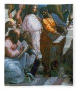 Pythagoras (569-475 B.c.) Fleece Blanket