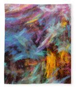 Quadra-04 Fleece Blanket
