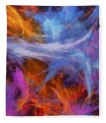 Quadra-06 Fleece Blanket