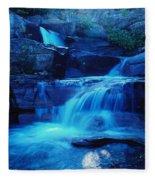 Quaint Falls  Fleece Blanket
