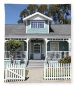 Quaint House Architecture - Benicia California - 5d18817 Fleece Blanket