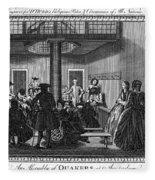 Quaker Meeting, C1790 Fleece Blanket