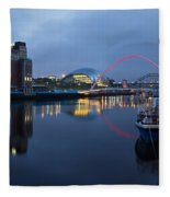 Quayside Landmarks Fleece Blanket