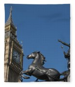 Queen Boadicea Fleece Blanket