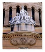 Queen Victoria Building - Sydney Fleece Blanket