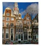 Raamgracht 19. Amsterdam Fleece Blanket