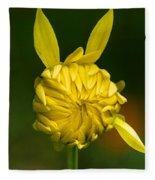 Rabbit Flower Fleece Blanket