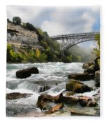 Raging Niagara          Fleece Blanket