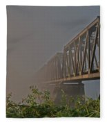 Railway Bridge Fleece Blanket