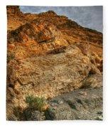Rainbow Canyon 2 Death Valley Fleece Blanket