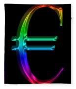 Rainbow Euro Fleece Blanket