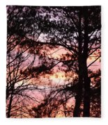 Rainbow Forest Fleece Blanket