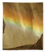 Rainbow Vision Fleece Blanket