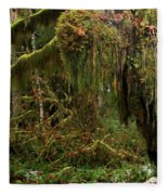 Rainforest Jaws Fleece Blanket