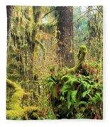 Rainforest Salad Bar Fleece Blanket